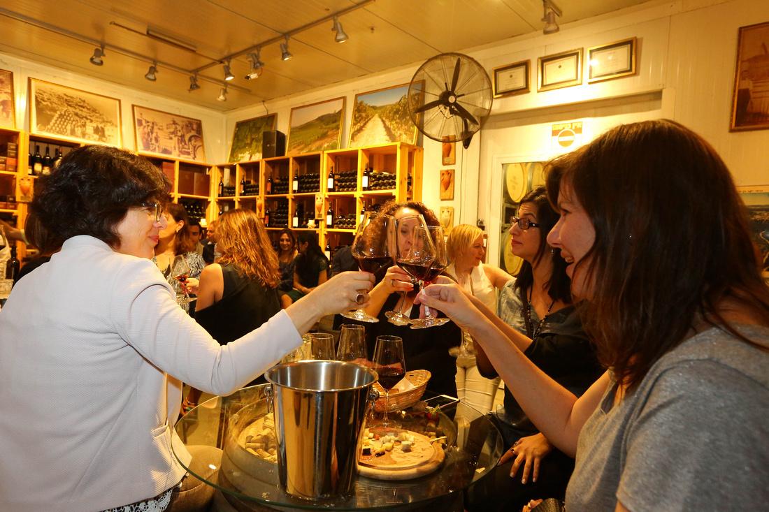 Celebrating good wine…